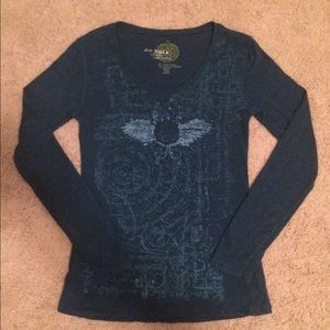 ECO YOGA Organic black long sleeve shirt  NWT $58 Women's Clothing